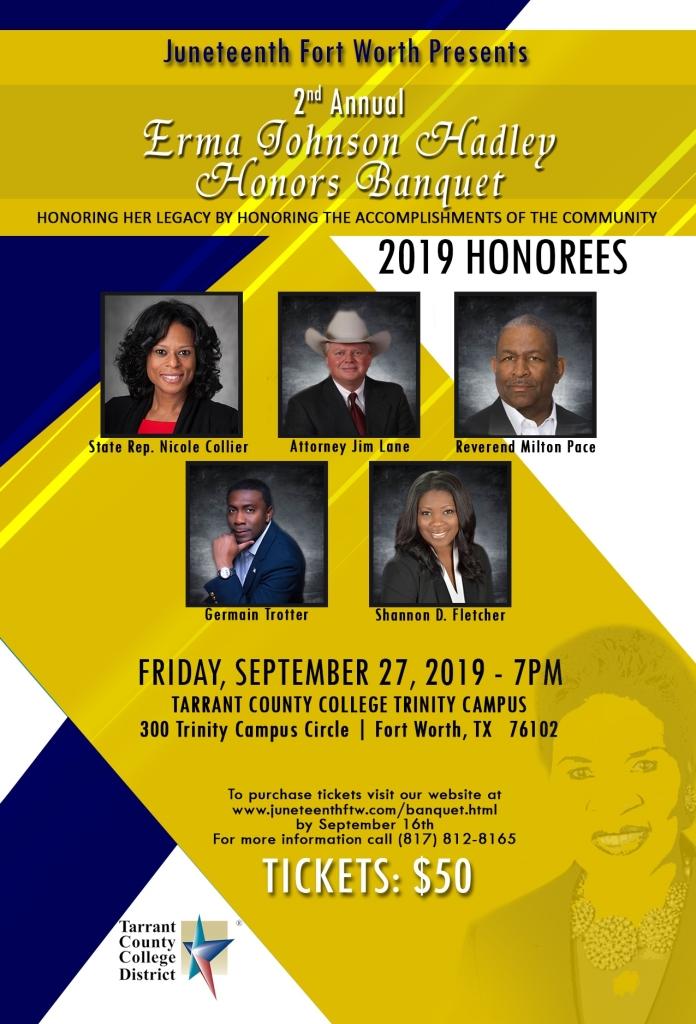 2019 Erma C. Johnson Hadley Honors Banquet (CF)